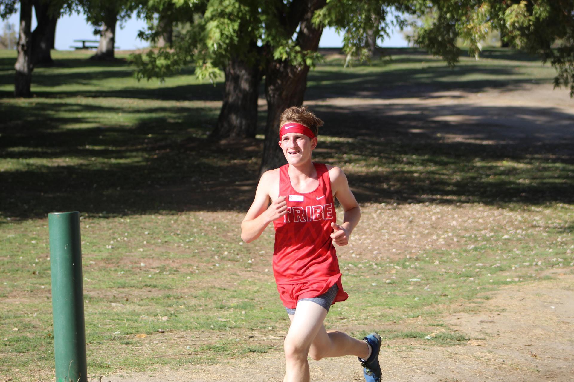 Boys Cross Country Running