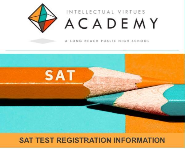 Register for SATs Today! Thumbnail Image