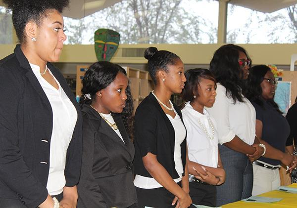 Natchez-Adams School District's Chapter of Mu Alpha Theta Induction Ceremony