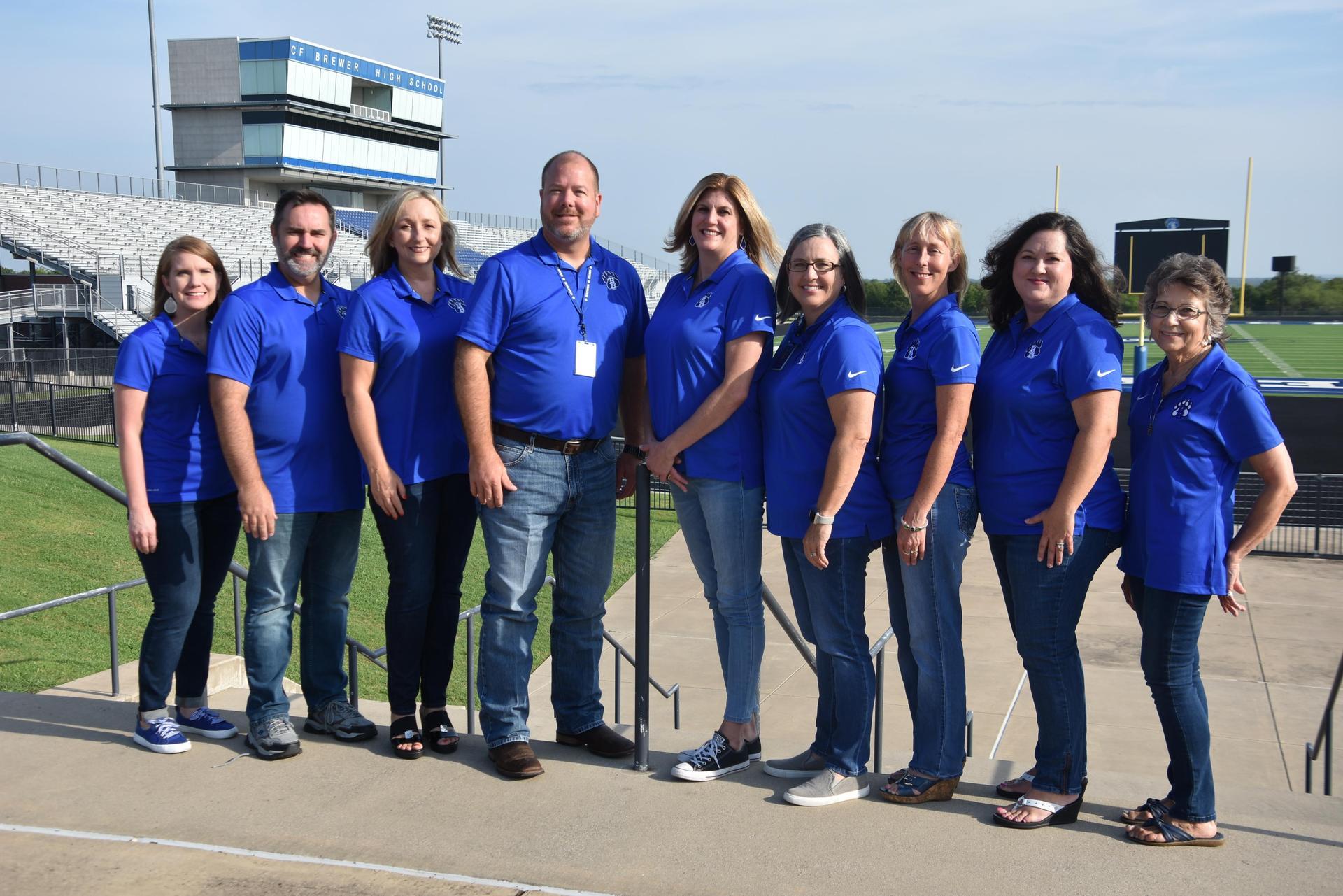 Curriculum Department Staff Photo