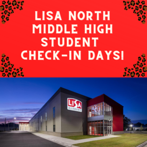 LISA North Middle High Student Check-in days!.png