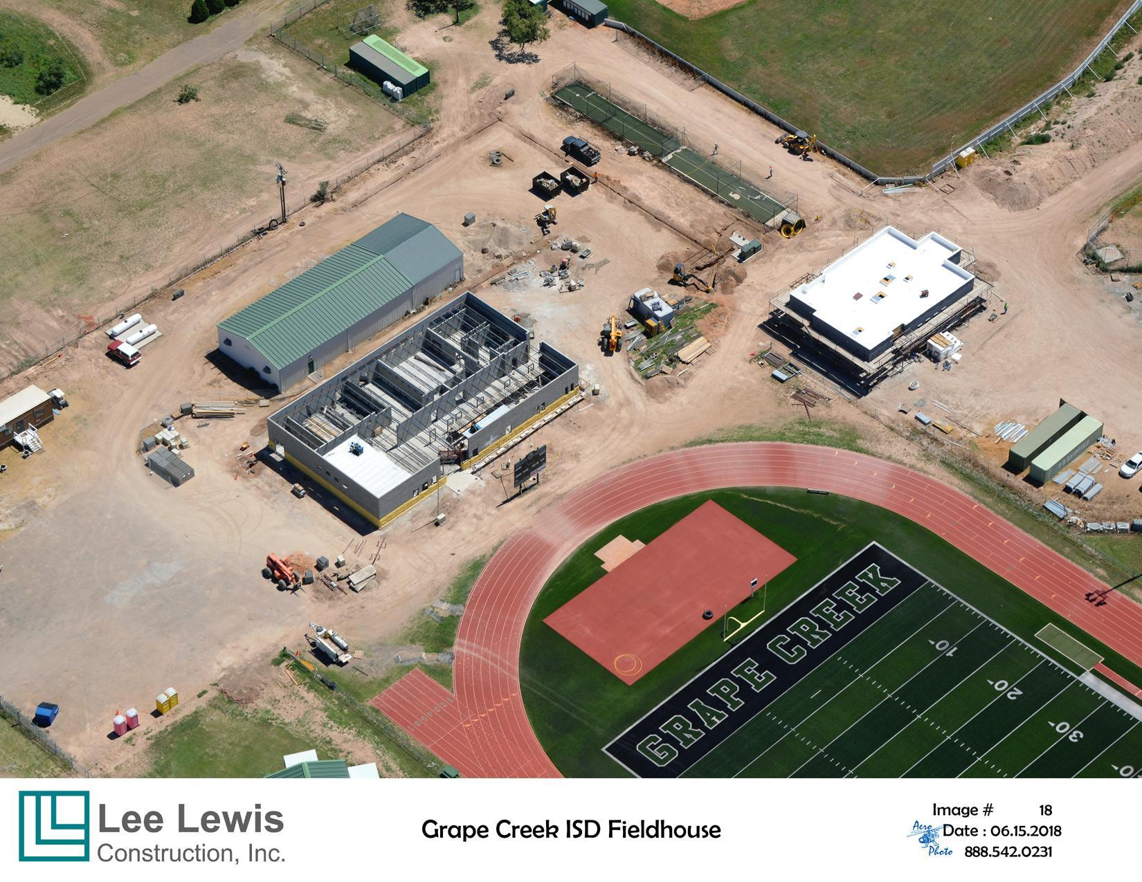 Aerial photo Boys Athletic Facility