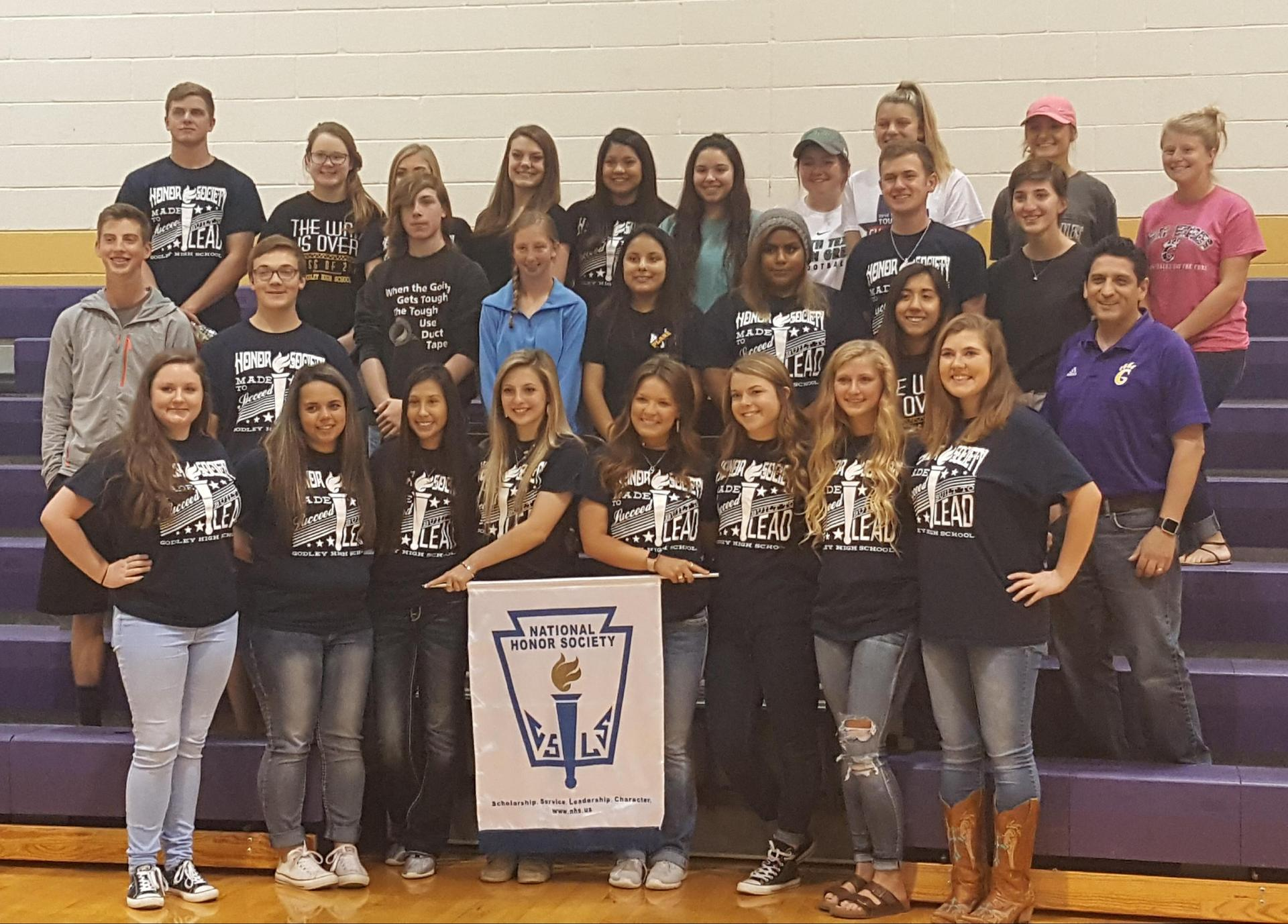 GHS chapter of the NHS - 2016-2017