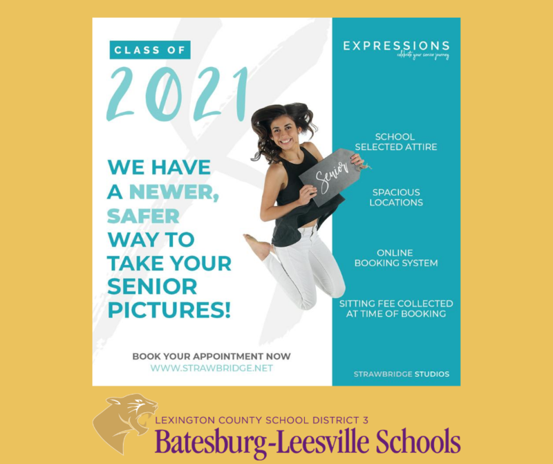 B-L High School Senior Portrait Information