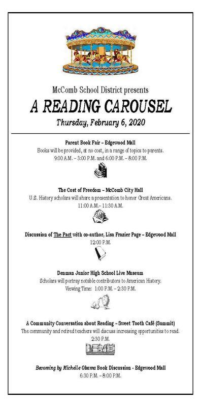 A Reading Carousel, February 6, 2020