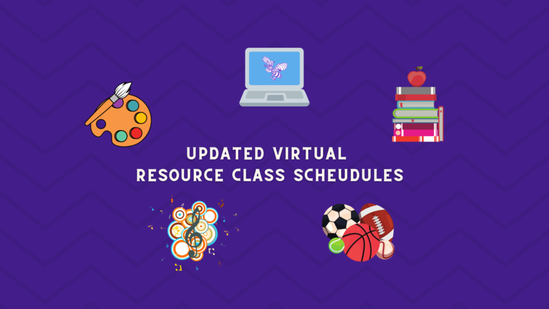 Updated Resource Class Schedules for Virtual Students