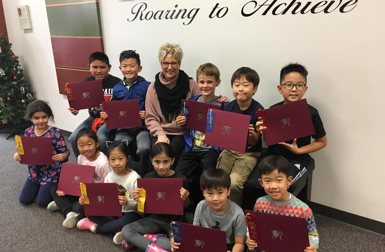 PTA's annual Reflections Art Winners for 2018