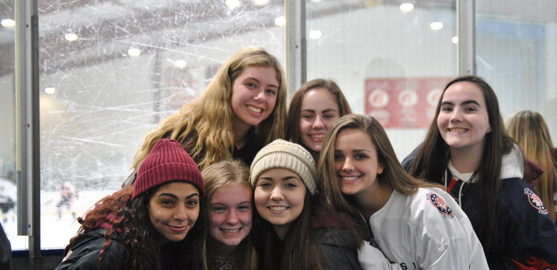 Ice Hockey Cheering Section