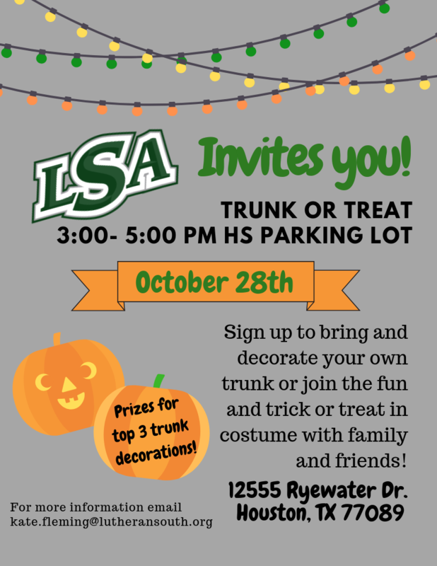 LSA Trunk or Treat Thumbnail Image