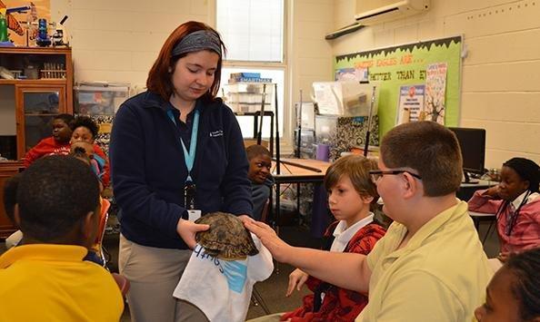 South Carolina Aquarium Class