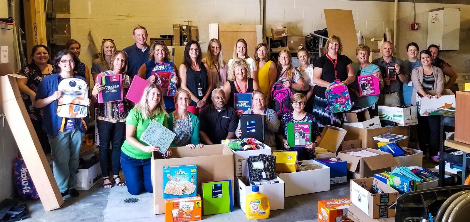 Butler & Preble County Success Programs accept school supply donation