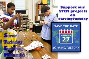On #GivingTuesday, support NYISE's STEM programs