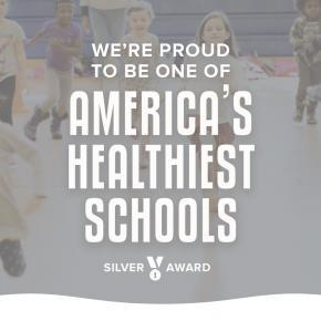 Orangethorpe Awarded Silver for America's Healthiest Schools