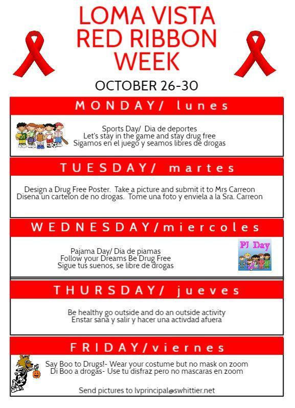 Red Ribbon Week Activities Featured Photo