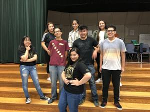 Forest Grove High School AVID Students who participated on a panel discussion
