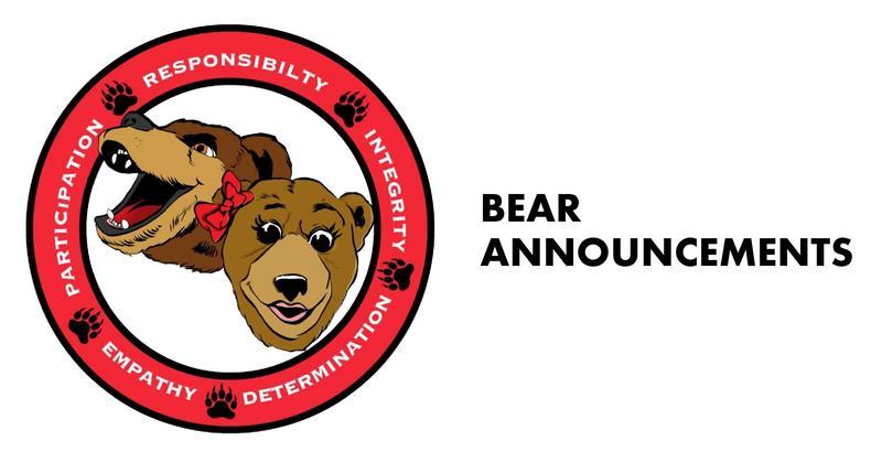 Bear Announcements Thumbnail Image