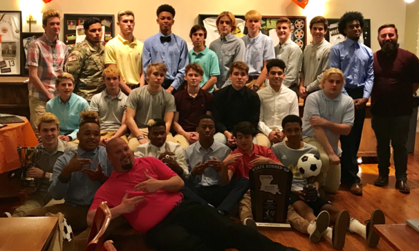 BCHS Soccer Team 2018 Sports Banquet.  Congratulations to the players and the coaches for a very success year and a job well done!!!!!!!!!