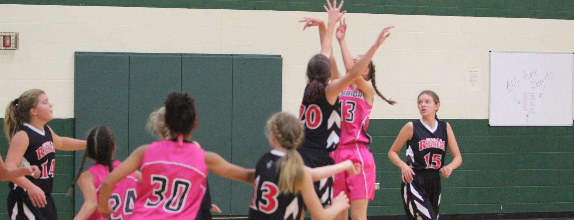 Girls Basketball - Middle School