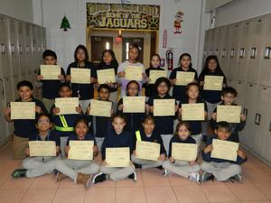 4th Grade Perfect Attendance Group