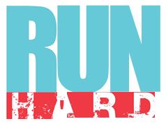 Run Hard Logo