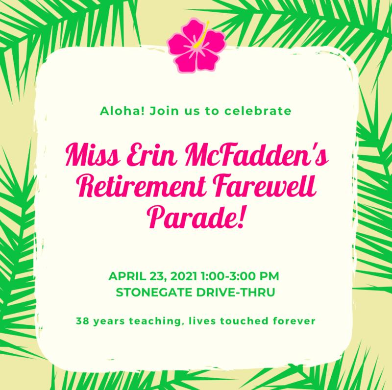 Retirement Farewell April 23