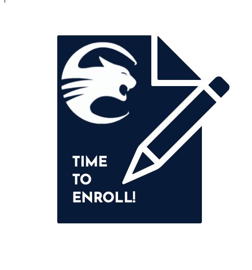 Time to Enroll Pencil Cougar Head