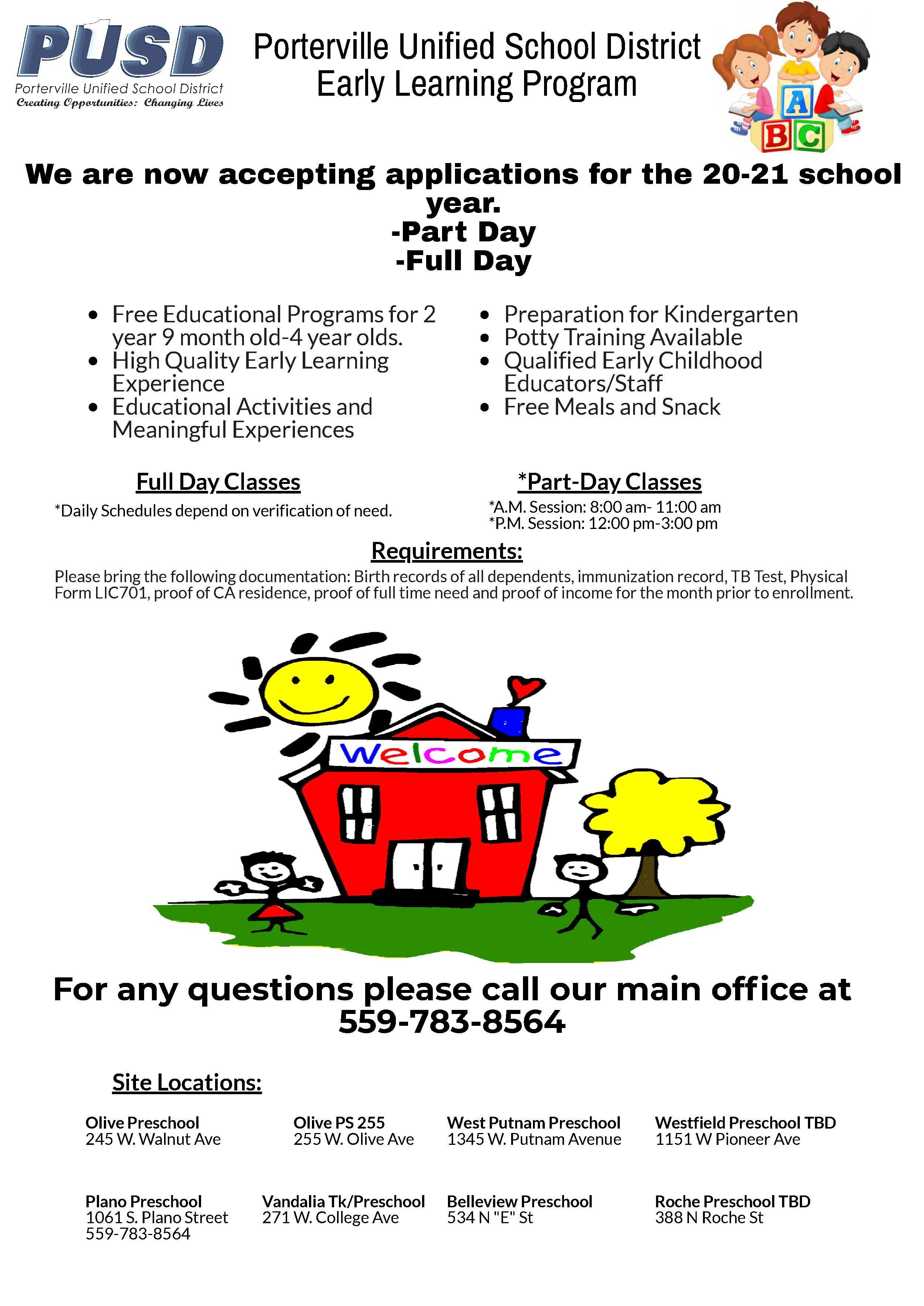 Preschool 20-21 Flyer