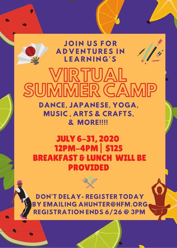 AIL Virtual Summer Camp