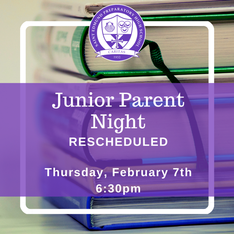 Junior Parent Night Rescheduled Featured Photo
