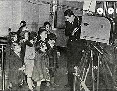2nd graders toured NBC studios in 1941
