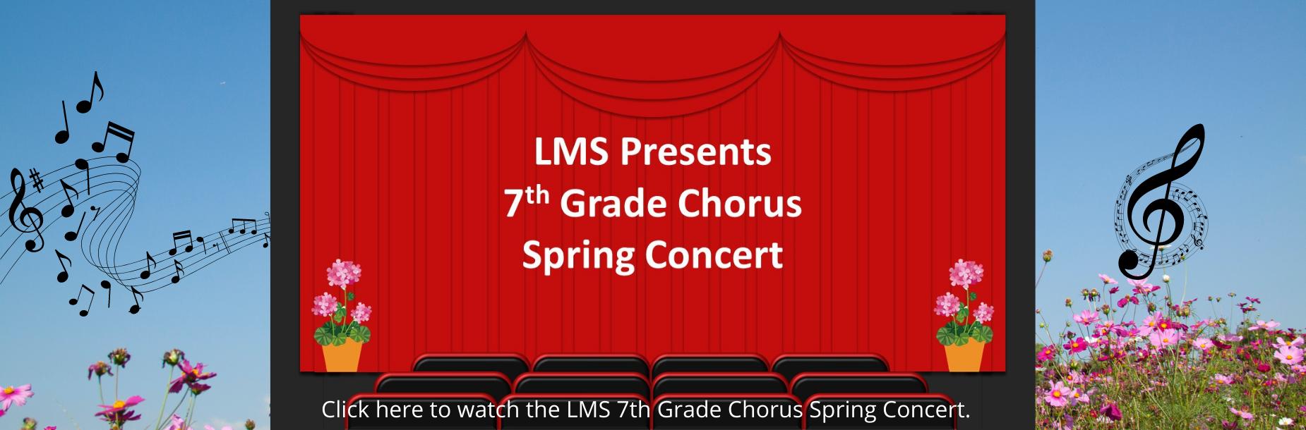7th grade spring concert link