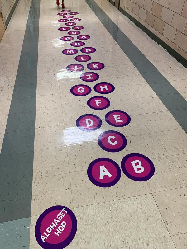 Alphabet Sensory Path