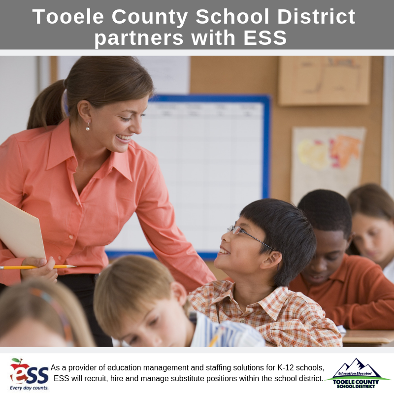 Graphic for partnership with TCSD and ESS