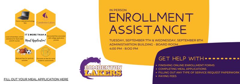 Enrollment Assistance Featured Photo
