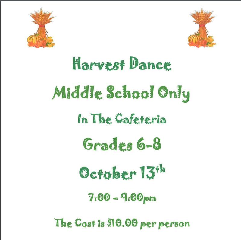 Middle School Harvest Dance Thumbnail Image