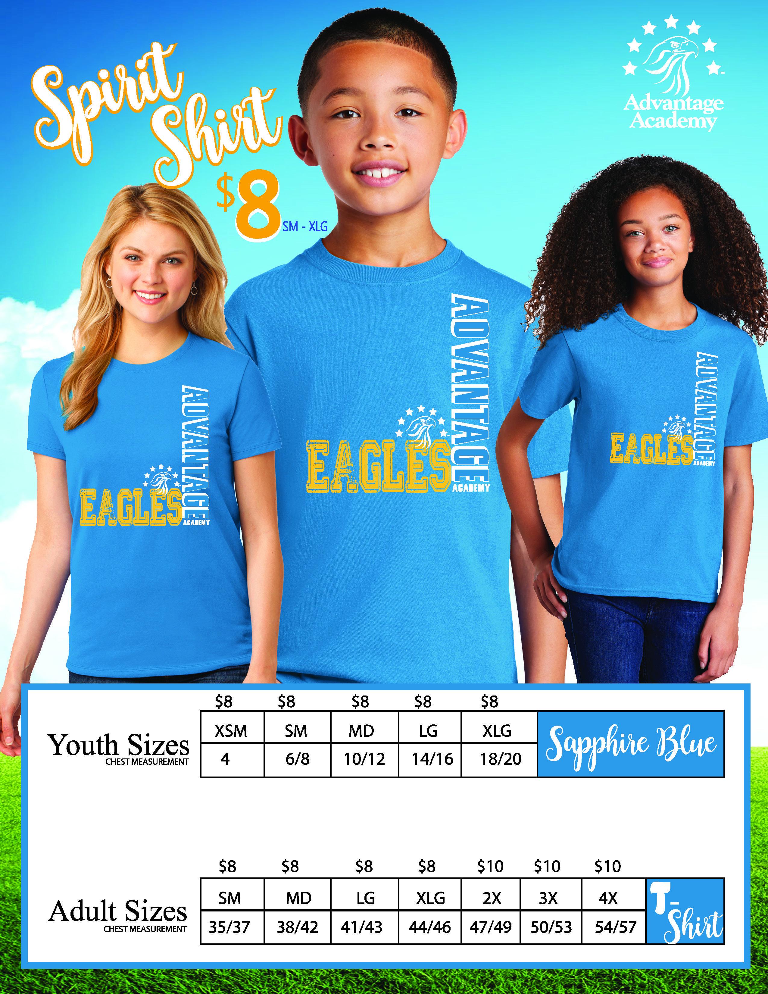 Advantage Academy Friday Spirit Shirts