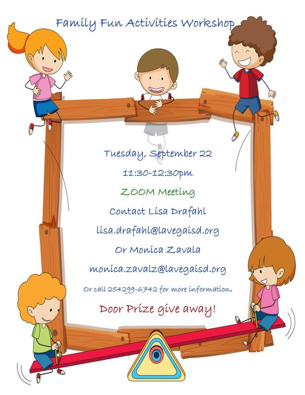 Parent Virtual Workshop! Thumbnail Image