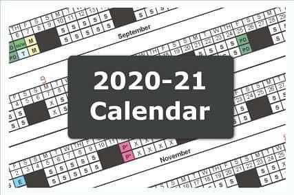 PPSB 2020-2021 School Calendar Thumbnail Image