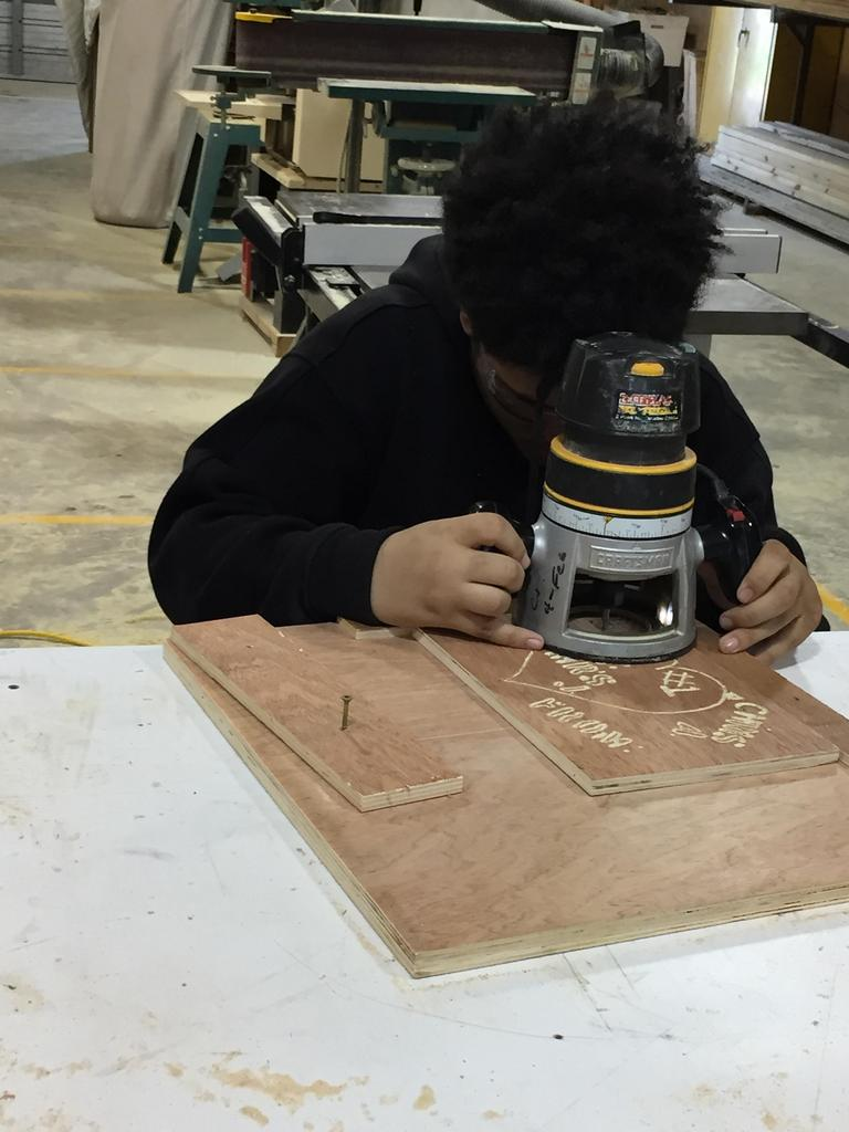 personalizing woodwork