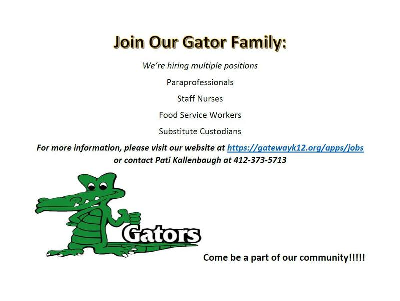 Join our gator family