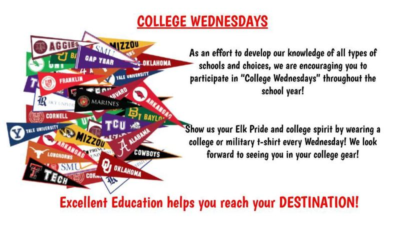 College Wednesdays at EIS! Featured Photo