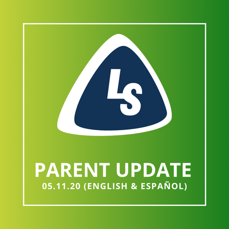 Parent Update   05.11.20 (English & Español)