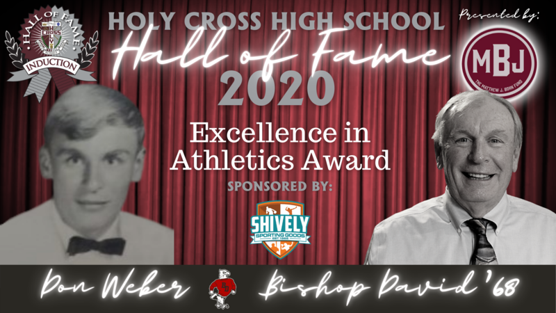 2020 Hall of Fame Induction Week: Excellence in Athletics- Don Weber, BD'68 Featured Photo