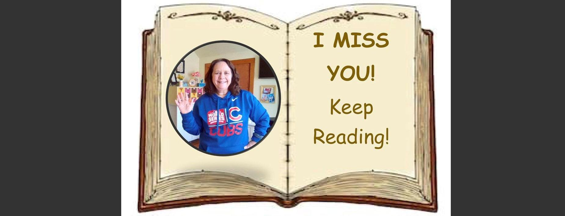I miss you keep reading!