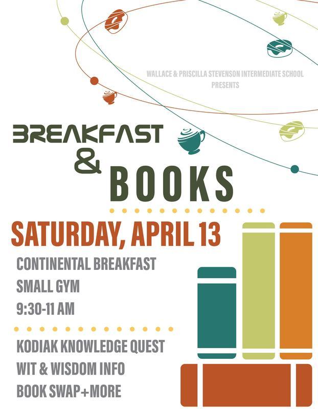 Flyer - Breakfast & Books April 13, 2019