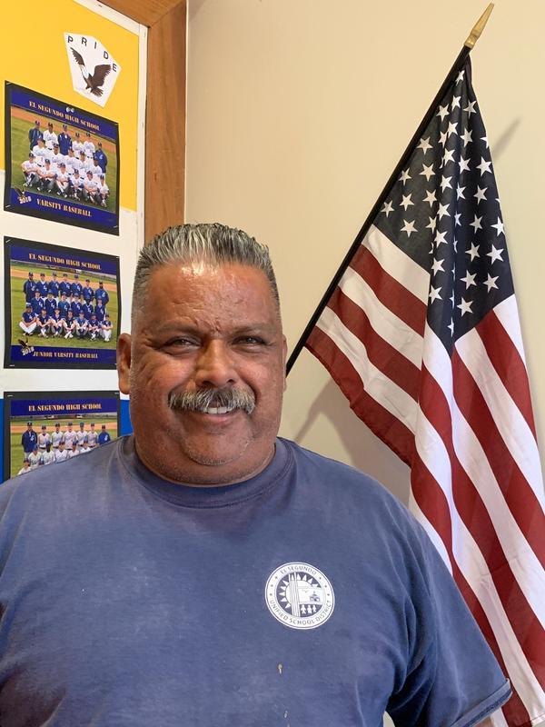 Pedro Gonzalez, ESHS custodian
