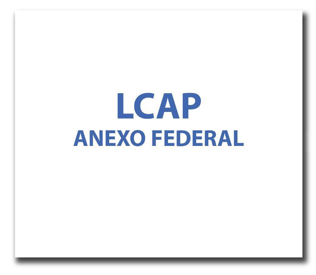 LCAP Anexo Federal