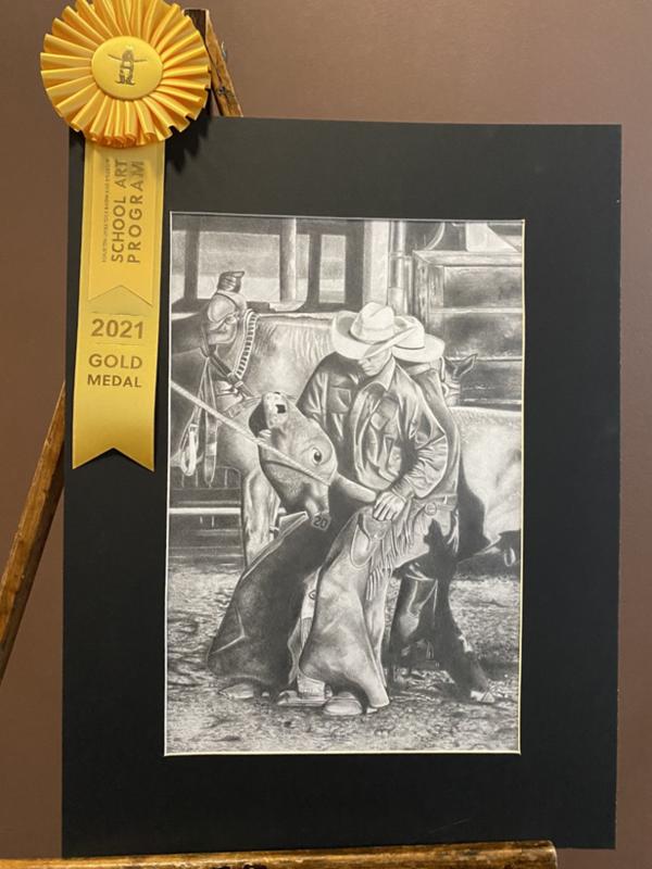 Amber Short Houston Livestock Show Art