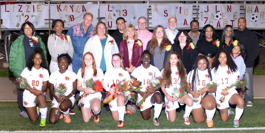 Varsity Girls' Soccer vs Mohawk - 101617