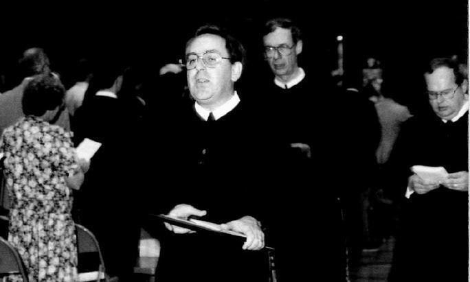 Brother James Kelly, C.F.X., former Xavier High School principal.